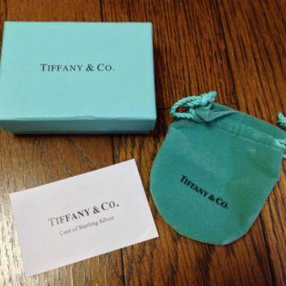 ティファニー指輪のケース箱袋