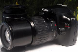 ★軽量・高画質★望遠レンズ付★Canon Kiss X50