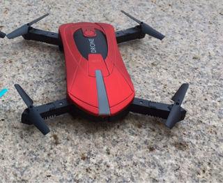 ドローン HDカメラ付き 折り畳み式  Wi-Fiカメラ 赤