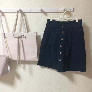 f.i.n.t デニム台形スカート