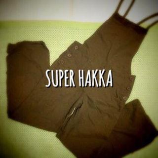 SUPER HAKKA★サロペット