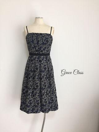 【新品】 Grace Classラメ刺繍ベアワンピース