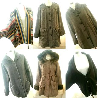 新品スプリングコート&ジャケット&羽織り系5点+オマケ1点
