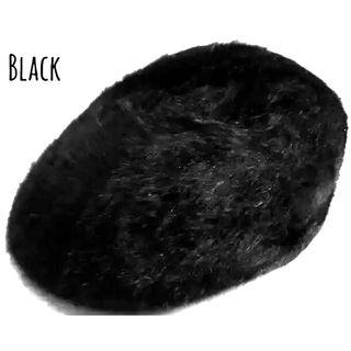 新品 アンゴラ ファー ハンチング ベレー帽 キャスケット