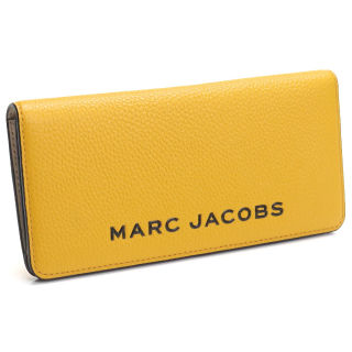 MARC JACOBS 長財布背面ファスナー イエロー系