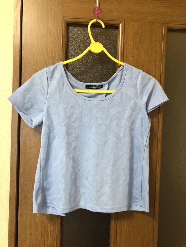 ショート丈背中あきTシャツ - フリマアプリ&サイトShoppies[ショッピーズ]