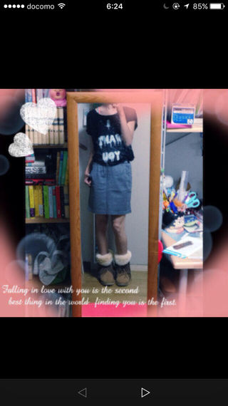 美品!オンザカウチのタイトスカート!