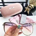 ミュウミュウ紫外線カット男女兼用メガネ サングラス