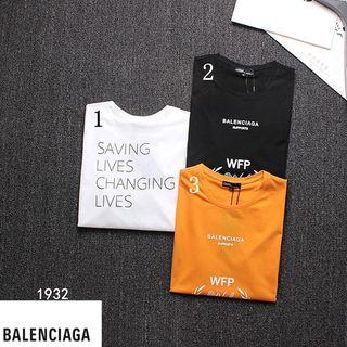 2019夏新品 balenciagaバレンシアガシャツ メ