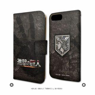 進撃の巨人 iPhone6/6s/7兼用 手帳型スマホケース