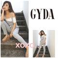新品 GYDA 2wayスウェットサロペット