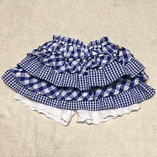 ティンカーベル90 フリルショートパンツ付きスカート