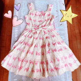 【新品】Angelic Pretty ロリータピンクリボン