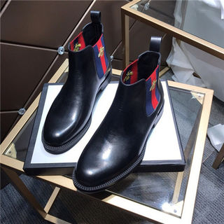 高品質 グッチ メンズ人気カップレ ブーツ