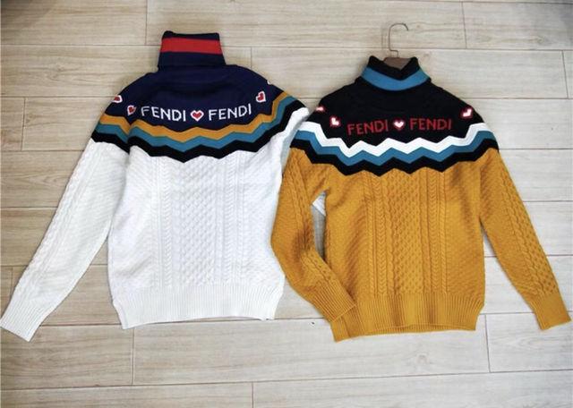 大人気 セーター ニット ハート ケーブルニット ロゴニット(FENDI(フェンディ) ) - フリマアプリ&サイトShoppies[ショッピーズ]