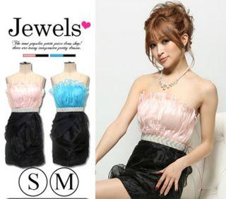 Jewels ドレス ワンピ ピンク
