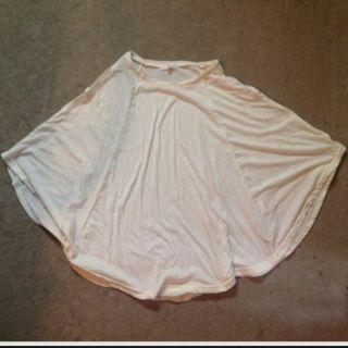 ポンチョ型Tシャツ