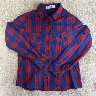 GILFY チェックシャツ