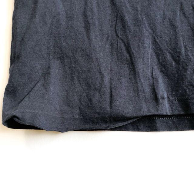 REPLAY リプレイ プリント Tシャツ ネイビー S