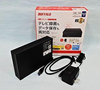 外付けHDD 4TB ハードディスク