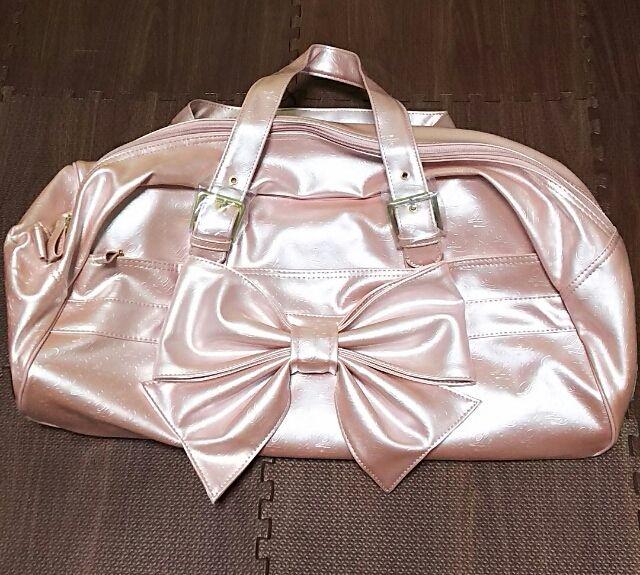 リズリサ キャリー付きボストンバッグ