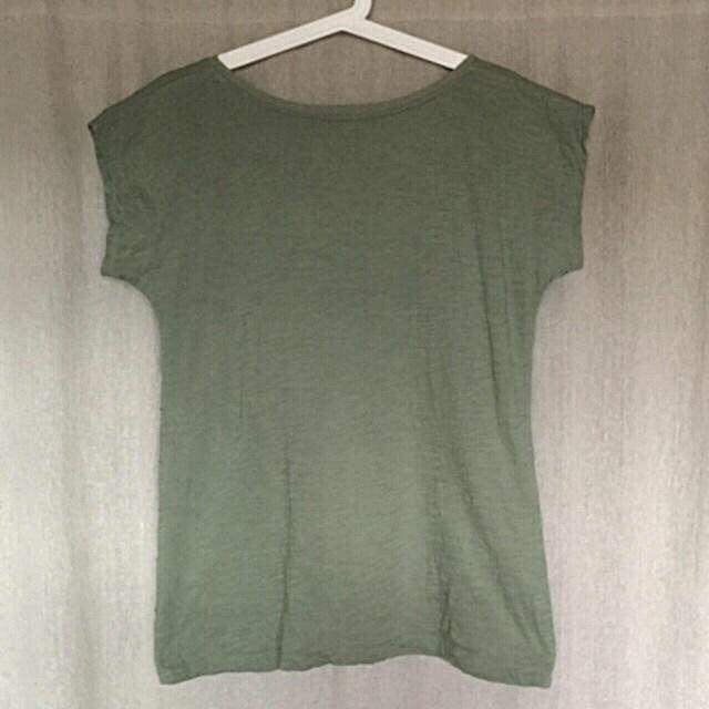 George大きいサイズ モスグリーン デザインTシャツ