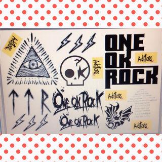 ONE OK ROCK タトゥーシール