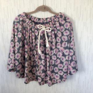 クリスプ 花柄スカート