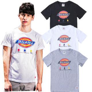 Dickies 男女兼用/人気半袖 Tシャツ-12