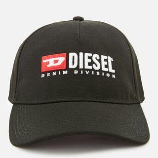Diesel キャップ ビンテージロゴブラック