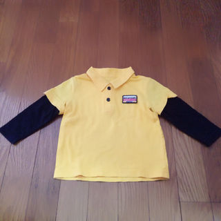 【kids】ポロシャツトップス男の子90長袖