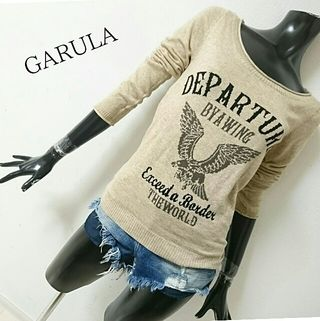 GARULA*クラッシュニット
