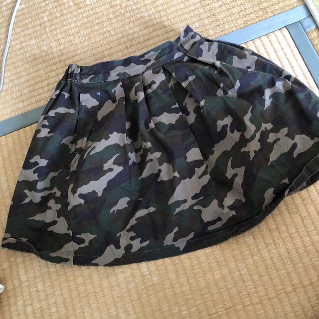 迷彩柄 スカート