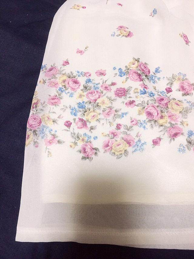 PATTERNパターン【新品同様】フラワーシアースカート