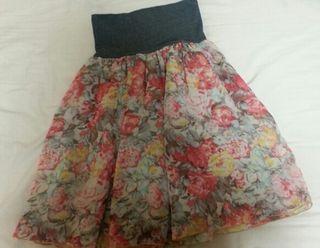 新品!アバハウス花柄スカート