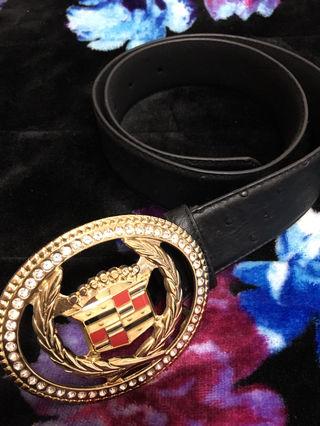 Cadillac gold belt