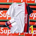 SUPREME  2枚セット男女兼用 Tシャツ  超人気
