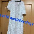 earth music&ecology ドット柄