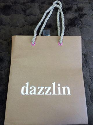 dazzlin ショップ袋