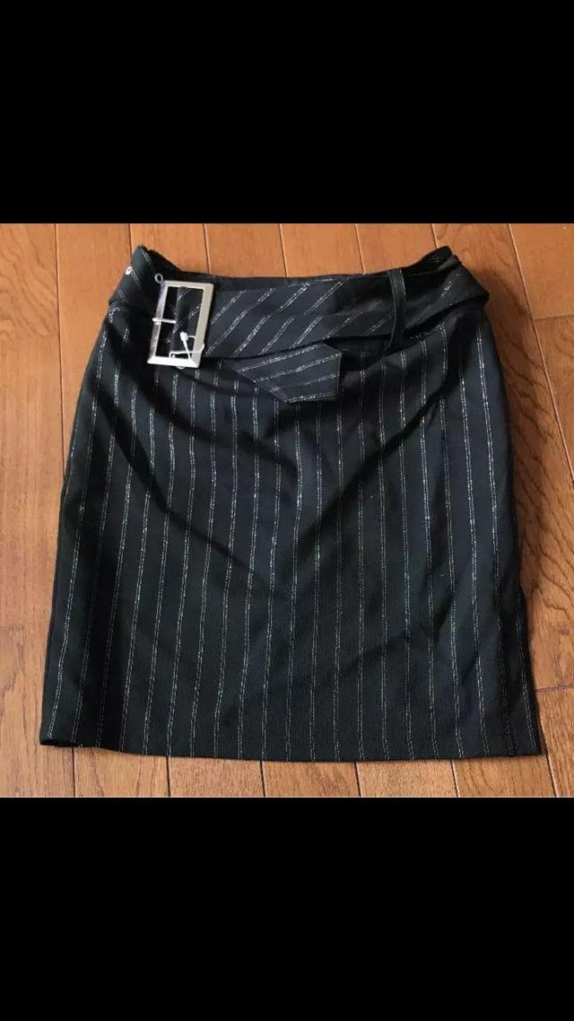ベルト付ラメスカート未使用(ノーブランド ) - フリマアプリ&サイトShoppies[ショッピーズ]