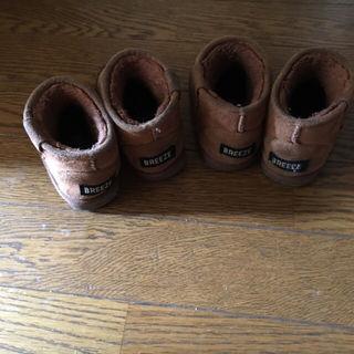 ムートン 13cm 13.5 cm 双子