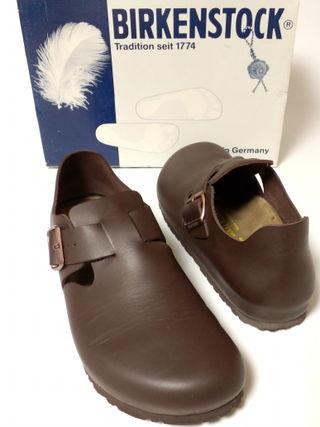 ビルケンシュトック紳士靴ロンドン27センチぺたんこ