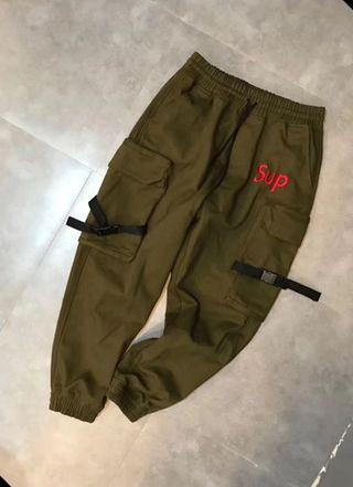Sup人気新作 ファッションのパンツ 厚手タイプ
