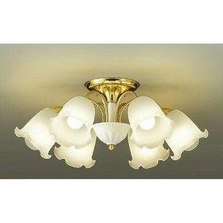 シャンデリア 6灯 LED ゴールド 天井照明 照明器具