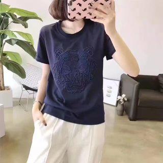 KENZOTシャツ 男女兼用 カジュアル 3色選択
