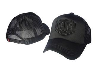 DEUS デウス キャップ ブラック フリーサイズ
