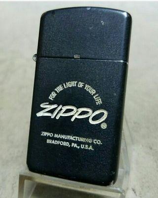 お勧めヴィンテージ1985年Zippoスリムラッカー