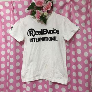 リアルビーボイスドロドロハートTシャツ