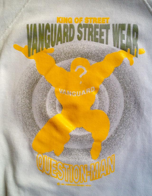 あのカリスマが「vanguard street wear」