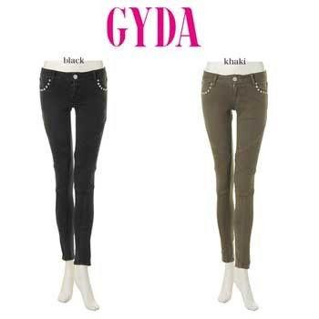 GYDA定価10980バイカーパギンス(GYDA(ジェイダ) ) - フリマアプリ&サイトShoppies[ショッピーズ]